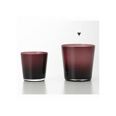 クレイ/GLASS VASE PURPLE/777-848-560【01】