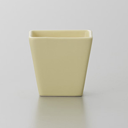 クレイ/COLOR VASE TENDER YELLOW/144-771-311【01】