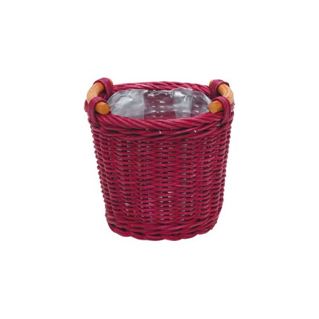 NatureDesigns/JAM basket ラウンドφ13 ワイン 40294/118-40294-0【01】