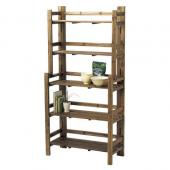 【直送】Paseo/Recycle Wood  Rack/WK-12BR※返品・代引不可【01】