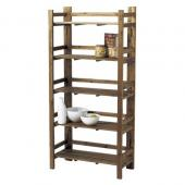 【直送】Paseo/Recycle Wood  Rack/WK-13BR※返品・代引不可【01】