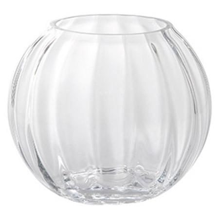 ガラス花器(丸)