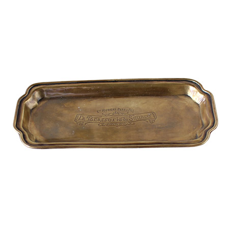 SPICE/TOOLS BRASS STAND TRAY WIDE/QEDS1040【01】