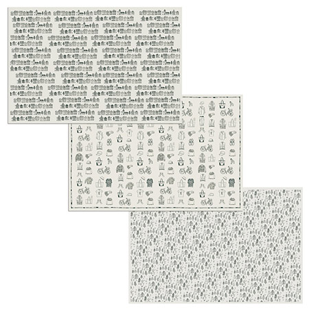 SPICE/Graphic news paper Handwriting 20部セット/RPBS1039【01】