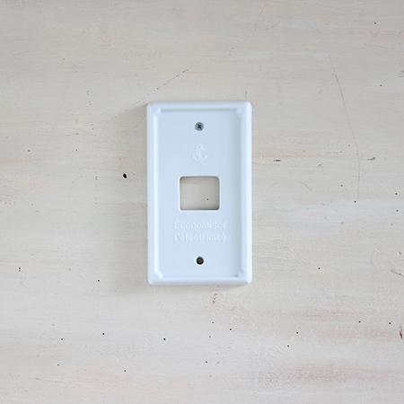 SPICE/Francais Marine Switch Plate One/NLLF2610【01】