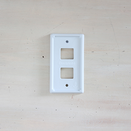 SPICE/Francais Marine Switch Plate Two/NLLF2620【01】