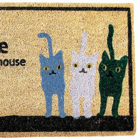 SPICE/COIR MAT CAT TRIO/RB001S【01】