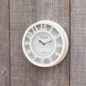 SPICE/OLD STREET WALL CLOCK WHITE/NHE901WH【01】