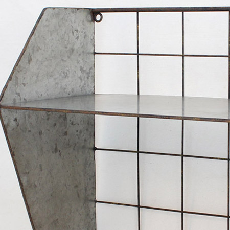 SPICE/WALL DECOR 2TIER RACK/DTDY4130【01】