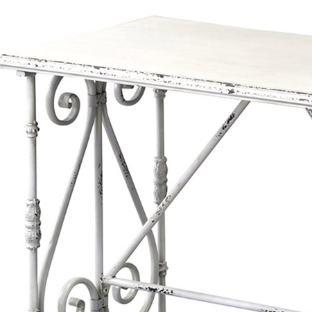 SPICE/DECOR TABLE Sサイズ WHITE/WRFT2010WH【01】