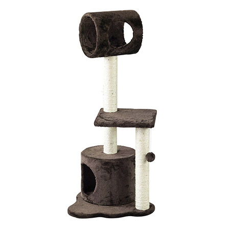 SPICE/PAW-PAW CAT TREE BROWN/HMLY4080BR【01】