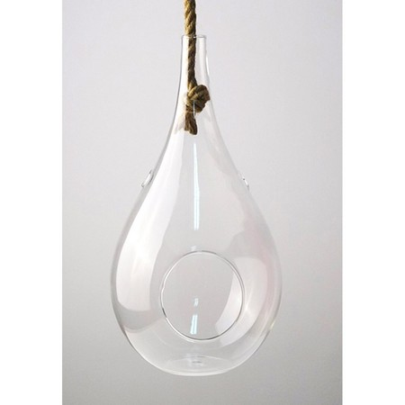 SPICE/Hanging vase with the rope Clear Lサイズ/KEGY5013【01】