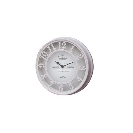 SPICE/OLD STREET WALL CLOCK BEIGE/NHE901BE【01】