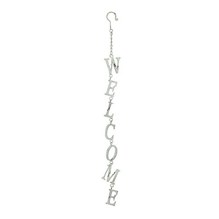 SPICE/JARDEN FER WELCOME SIGN WHITE/CNGG5030WH【01】