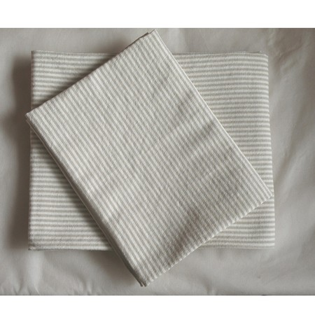 SPICE/NEW DAY TABLE CLOTH 150×180 NATURAL STRIPE/MTLG5050NS【01】