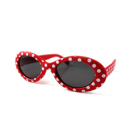 SPICE/KIDS SUNGLASSES OVAL DOT RED/SFKY1515【01】
