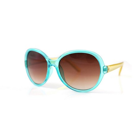 SPICE/KIDS SUNGLASSES OVAL BLUE/YELLOW/SFKY1502【01】