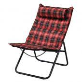 SPICE/Manhattan Folding Chair Tartan Checked RED/CPC250RD【01】