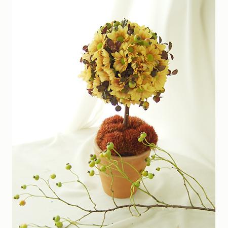 【生花】秋色てまり草(染め)40cm 【OTA】早締切