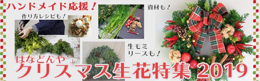クリスマスのお花特集